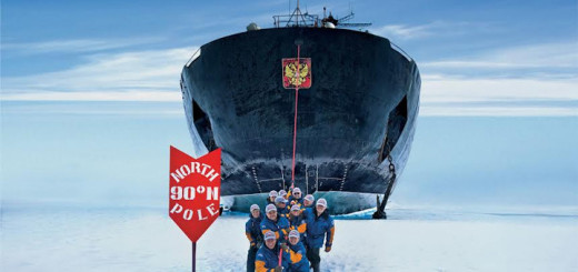 50 Years of Victory am Nordpol. Foto: Poseidon Expeditions