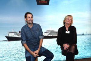 David Garrett bei Cunard. Foto: Cunard Line