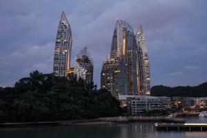 Mein Schiff in Singapur Asien. Foto: TUI Cruises