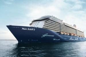 Mein Schiff 3 von TUI Cruises auf Kreuzfahrt. Foto: TUI Cruises