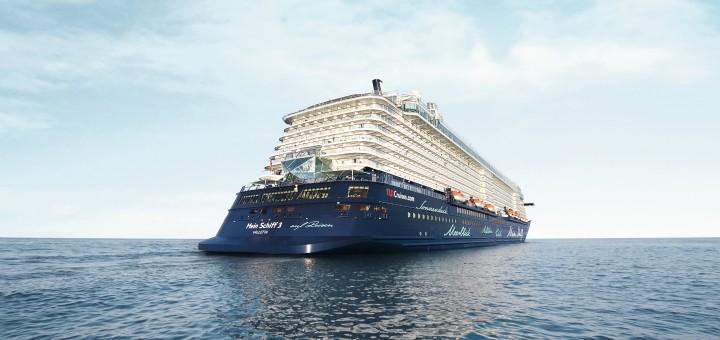 Mein Schiff ab Bremerhaven