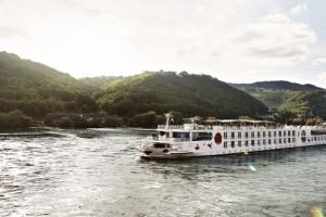 A-ROSA VIVA auf Flusskreuzfahrt. Foto: A-ROSA