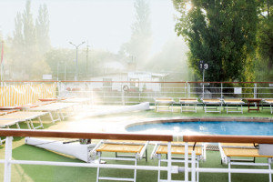 Pooldeck bei A-ROSA