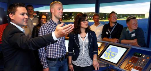 """Veranstaltung """"Wissen mit Meerwert"""" in der AIDA Academy in Rostock. Foto: AIDA Cruises"""