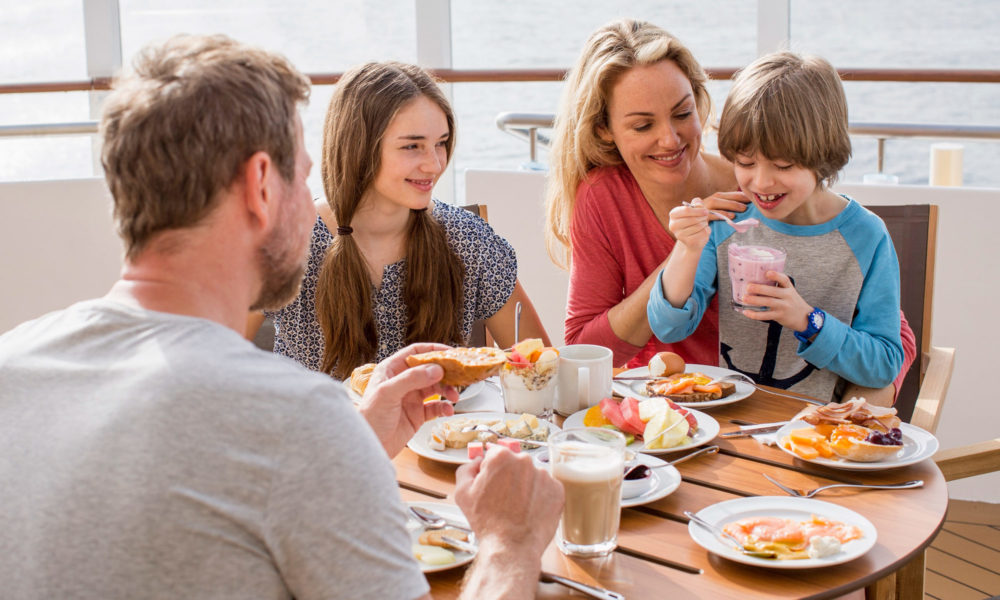 AIDA Familien. Foto: AIDA Cruises
