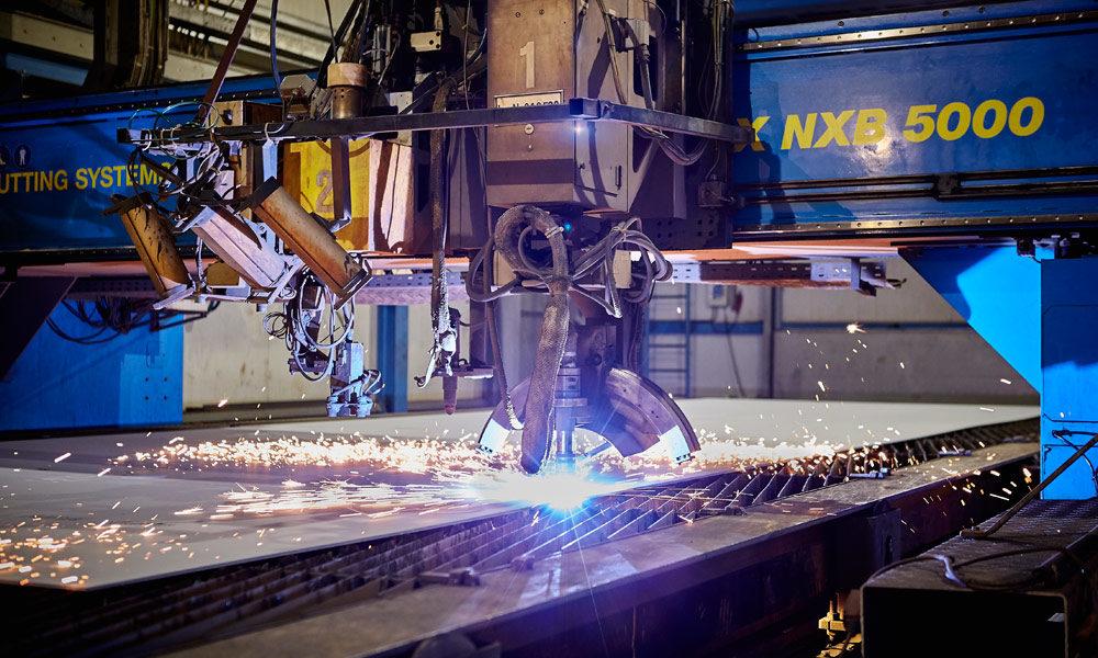 Stahlschnitt der AIDA Generation 2018 auf der Meyer Werft in Papenburg. Foto: AIDA Cruises