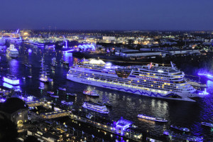 AIDA bei Hamburg Cruise Days. Foto: AIDA Cruises