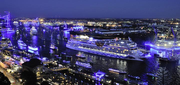 AIDA bei Hamburg Cruise Days. Foto: AIDA Cruises