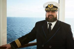 AIDA Kapitän Boris Becker. Foto: AIDA Cruises