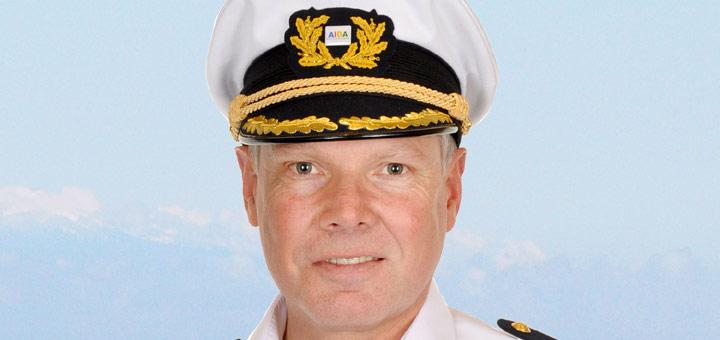AIDA Kapitän Detlef Harms. Foto: AIDA Cruises