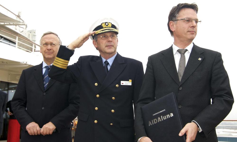 AIDA Kapitän Lutz Leitzsch