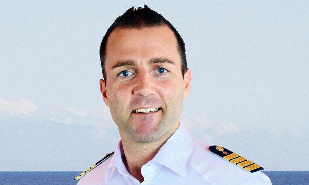 AIDA Kapitän Martin Rittig