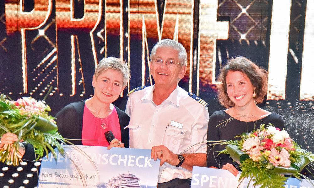 AIDA Kapitän Massimo Garbarino. Foto: AIDA Cruises