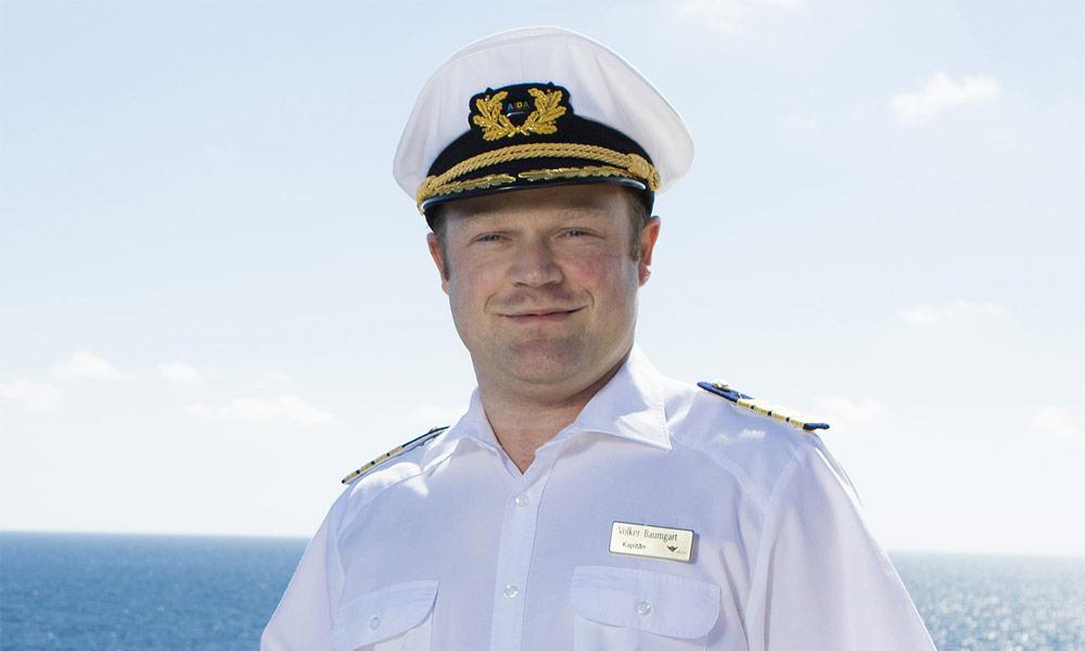 AIDA Kapitän Volker Baumgart