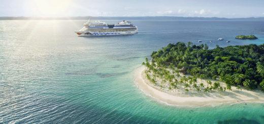 AIDA in der Karibik. Foto: AIDA Cruises