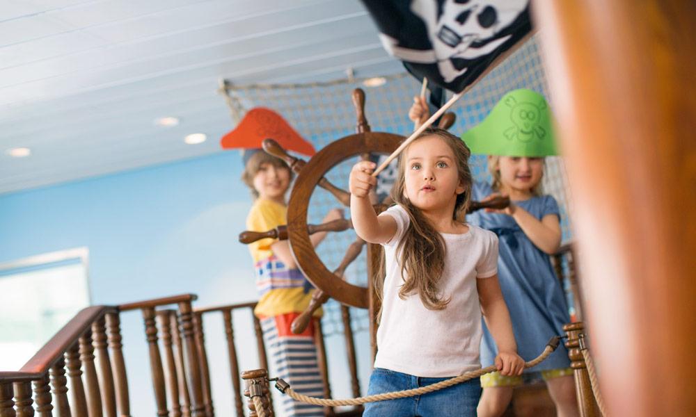 Kinder bei AIDA. Foto: AIDA Cruises
