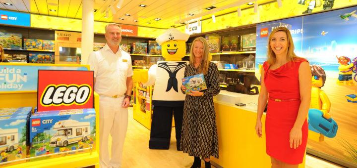 AIDA LEGO Store auf AIDAprima