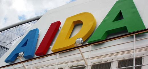 Kreuzfahrtmarke AIDA Cruises. Foto: Kreuzfahrtpiraten