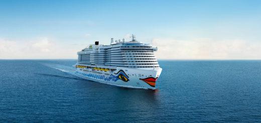 AIDA Neubau von der Meyer Werft. Foto: AIDA Cruises