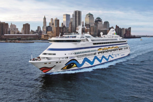 AIDA in New York. Foto: AIDA Cruises