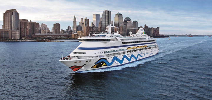 AIDA nach New York