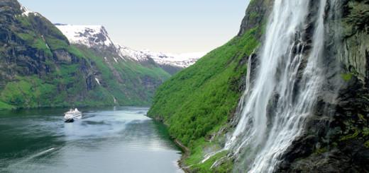 AIDA in Norwegen. Foto: AIDA Cruises
