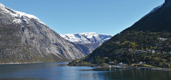 AIDA im Eidfjord, Norwegen