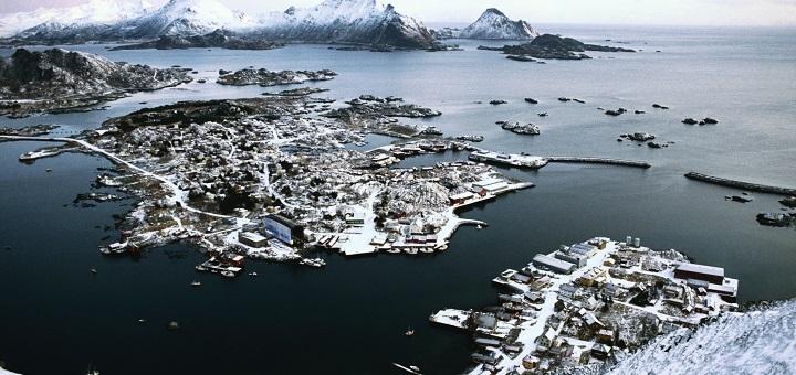 AIDA auf den Lofoten. Foto: AIDA Cruises