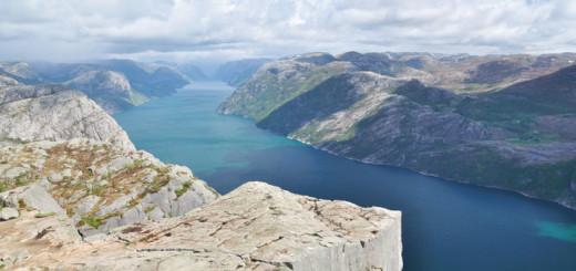 AIDA im Lysefjord, Norwegen