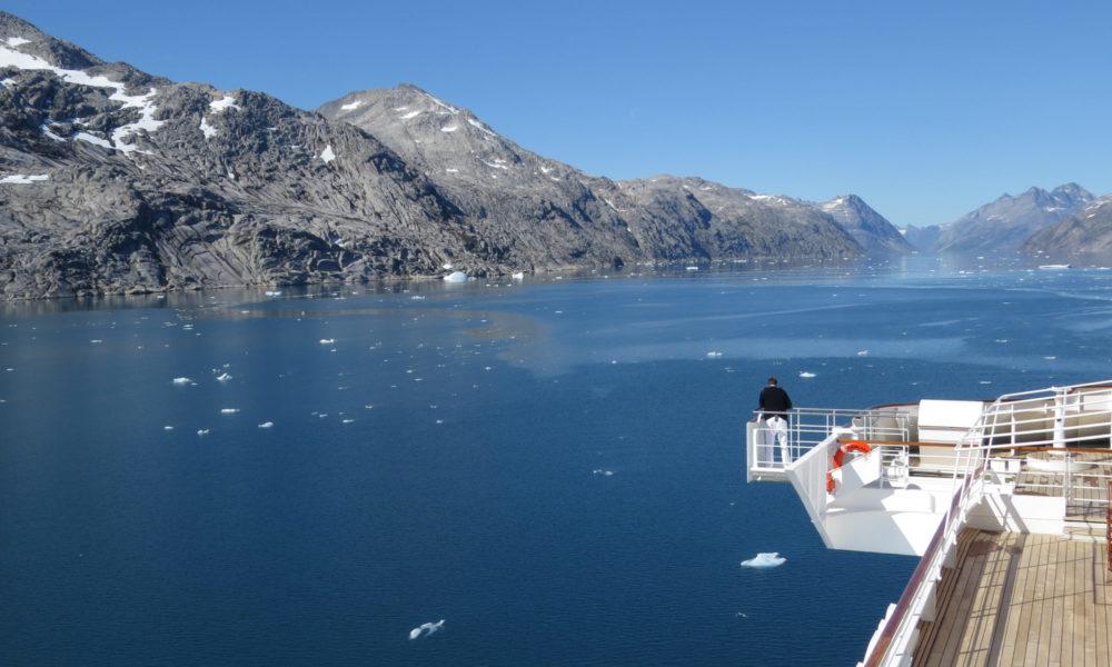 AIDA im Prinz-Christian-Sund, Grönland