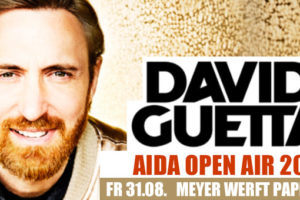 AIDA Open Air mit David Guetta. Foto: AIDA Cruises