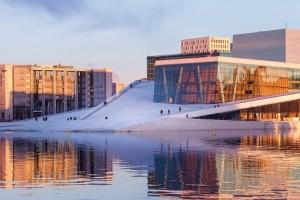 AIDA in Oslo. Foto: AIDA Cruises
