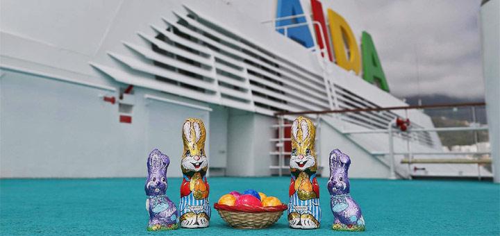 Ostern auf Kreuzfahrt mit AIDA. Foto: AIDA Cruises