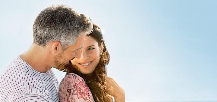 Paar auf AIDA. Foto: AIDA Cruises