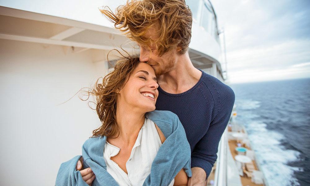 Paare bei AIDA. Foto: AIDA Cruises