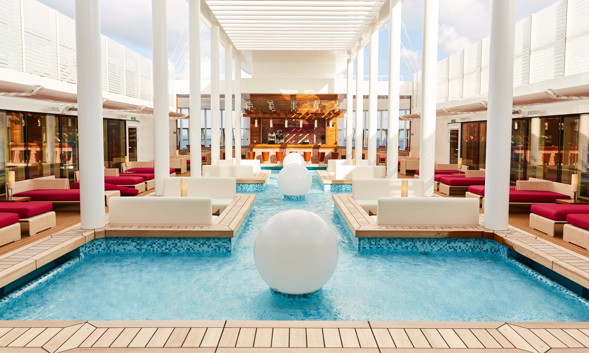 AIDA Patio Deck. Foto: AIDA Cruises