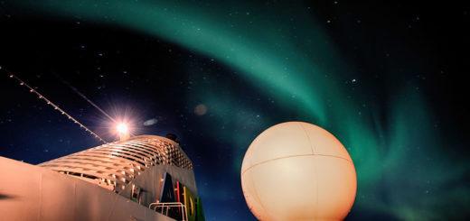 AIDA Polarlichter. Foto: AIDA Cruises