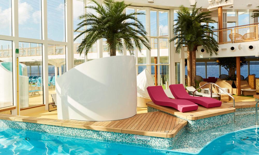 AIDA BeachClub. Foto: AIDA Cruises