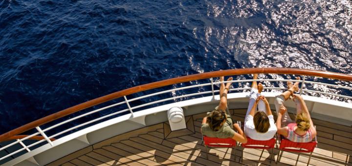 Entspannte Seetage an Bord von AIDA. Foto: AIDA Cruises