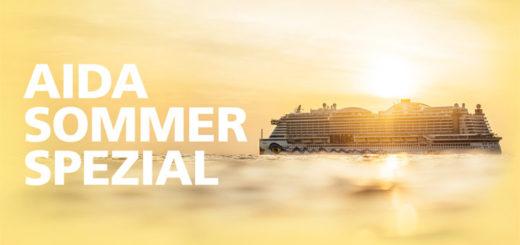AIDA Sommer Spezial. Foto: AIDA Cruises