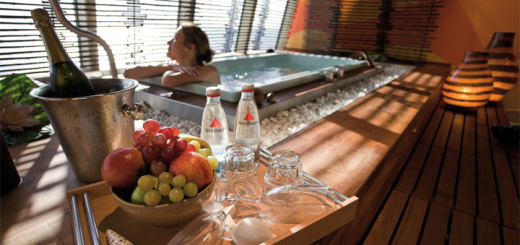 Entspannung und Ruhe in der AIDA Spa Suite. Foto: AIDA Cruise