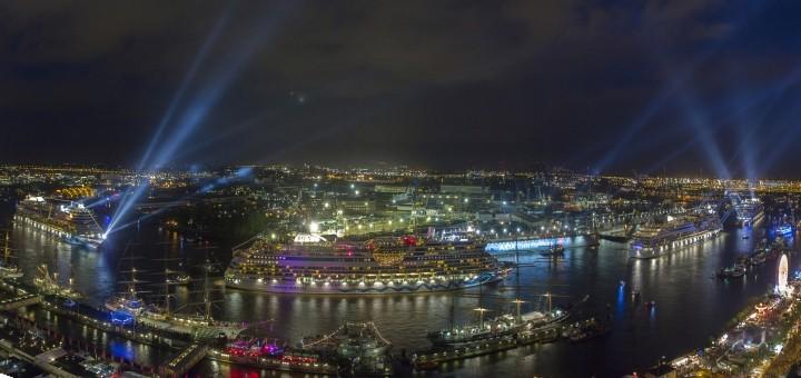 AIDAmar Taufe im Hamburger Hafen. Foto: AIDA Cruises