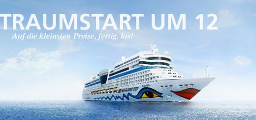 Mit Traumstart um 12 zum AIDA Kreuzfahrt-Schnäppchen. Foto: AIDA Cruises