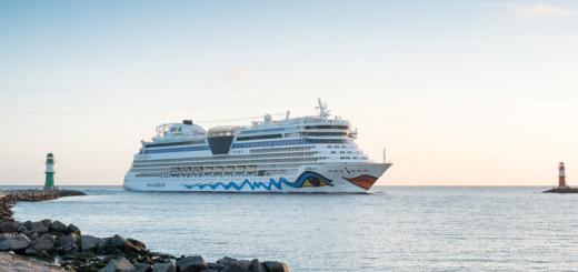 AIDA ab Warnemünde. Foto: Georg Schwarnweber / AIDA Cruises