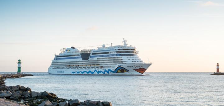 AIDA Kreuzfahrt ab Warnemünde. Foto: Georg Schwarnweber / AIDA Cruises
