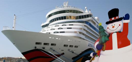 Weihnachten mit AIDA auf Kreuzfahrt. AIDA Cruises