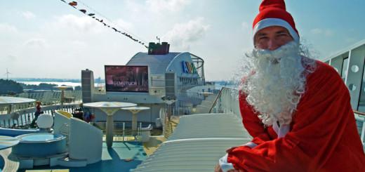 Weihnachten auf AIDA. Foto: AIDA Cruises
