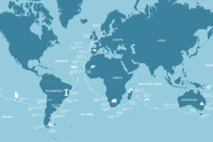 AIDA Weltreise 2018. Foto: AIDA Cruises