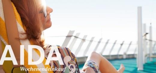 AIDA Wochenendeinkauf. Foto: AIDA Cruises