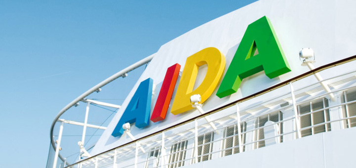 AIDA Kreuzfahrt buchen